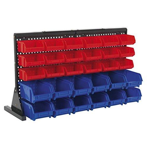 Sealey Tps1218 Bin Storage System Bench Mounting 30 Bins B0095IKYHM
