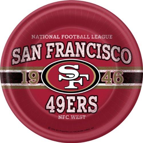 San Francisco 49ers Nfl Licensed Dinner Plates