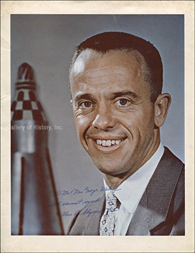Rear Admiral Alan B. Shepard Jr. Inscribed Photograph Signed