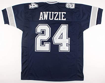 e6ed30f0512 Image Unavailable. Image not available for. Color: Chidobe Awuzie #24  Signed Dallas Cowboys Jersey ...