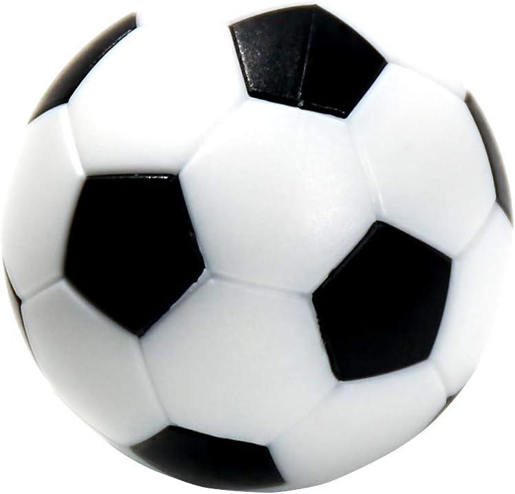 sungpunet Juego de mesa fútbol Foosballs reemplazos Mini de ...