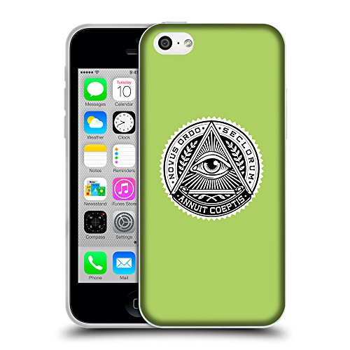 GoGoMobile Coque de Protection TPU Silicone Case pour // Q09020628 Œil Providence 12 poule // Apple iPhone 5C