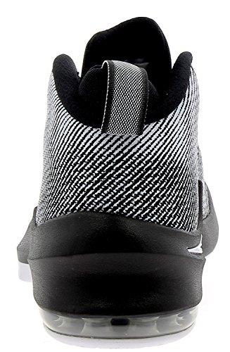 Nike Air Max Infuriate Mid Noir Chaussures De Basketball 44 as