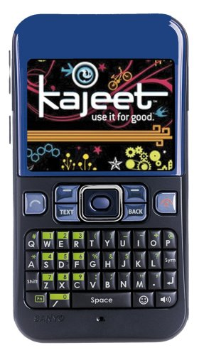 Sanyo 2700 Prepaid Phone for Kids with 1 Year of GPS, Blue (Kajeet)