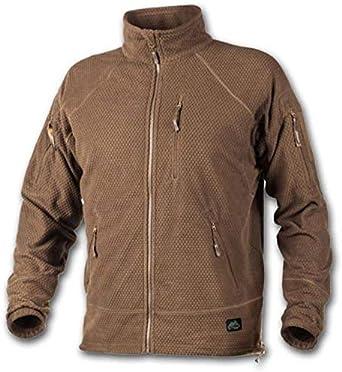 Alpha Tactical Jacket – Grid Forro Polar – Coyote, Color Marrón, tamaño Extra-Small: Amazon.es: Ropa y accesorios
