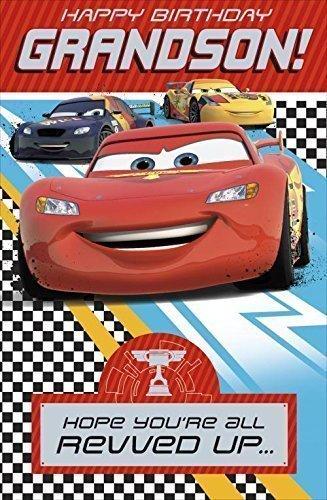 Amazon.com: Shop Inc Disney Cars Tarjeta de cumpleaños para ...