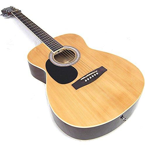 アコースティック?ギター レフトハンド 左用 初心者 ハイグレード 16点 セット Legend FG-15LH アコギ 入門 N [98765] B017BEYBWA N(ナチュラル)