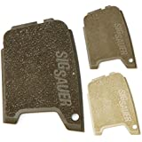 Sig Sauer P290 military polymer grip panel set FDE, Tan, and OD Green
