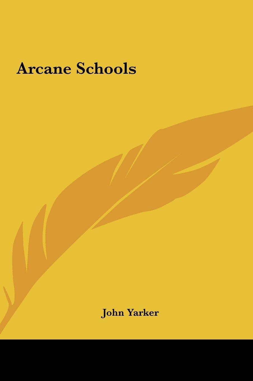 Download Arcane Schools ebook