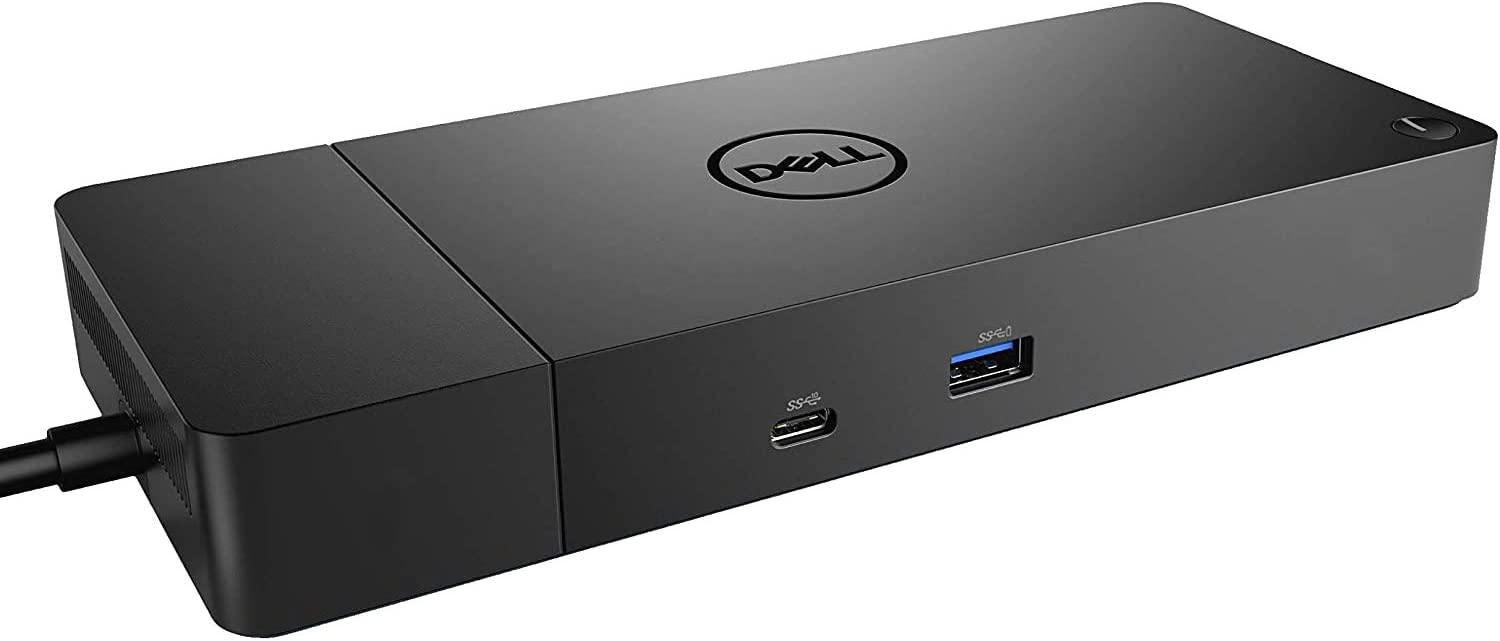 Dell Thunderbolt Dock WD19TBS (with 130W Power Delivery) No 3.5mm Ports. USB-C, Thunderbolt 3, HDMI, Dual DisplayPort, Black