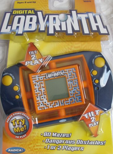 ウイスキー専門店 蔵人クロード [Radica]Radica Hand DIGITAL Held More! DIGITAL LABYRINTH GAME [Radica]Radica w 80 MAZES, VIRTUAL MOTION SENSORS, OBSTACLES & More! [並行輸入品] B00FO90JB2, 【完売】 :9fa2615c --- ciadaterra.com