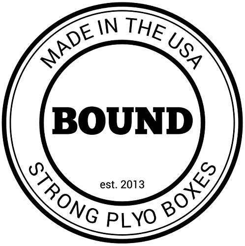 (12/14/16 Fully Assembled) Bound Plyo Box 3-in-1 Wood Puzzle Plyometric Box - CrossFit Training, MMA, or Plyometric Agility - Jump Box, Plyobox, Plyo Box, Plyometric Box, Plyometrics Box by BOUND Plyo Box (Image #1)