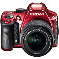 Pentax K-30 Weather-Sealed 16 MP CMOS Digital SLR with 18-55mm Lens (Crystal Red) [Electronics]