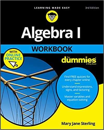 Algebra I Workbook For Dummies 3, Mary Jane Sterling - Amazon.com
