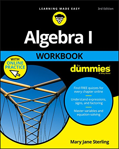 Algebra I Workbook For Dummies (Go Math Grade 4 Answer Key Chapter 12)