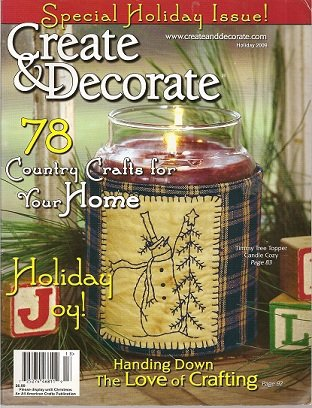 Create & Decorate Magazine Holiday 2009 -