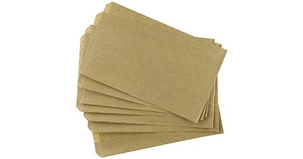 Amazon.com: 100 bolsas de papel kraft marrón de 3.9 x 5.9 in ...