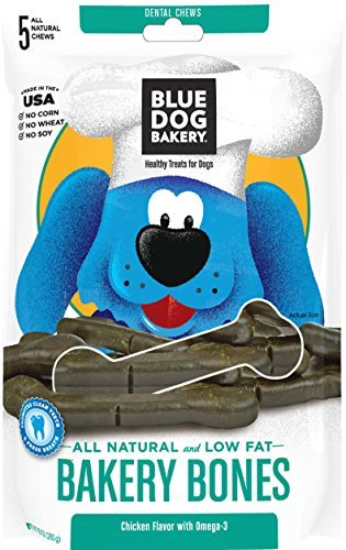 Blue Dog Bakery Bakery All Natural Low Fat Bakery Bones, 10 Ounce by Blue Dog Bakery