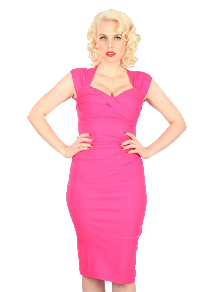 Stop Staring! Love Hot Pink Dress (Small)