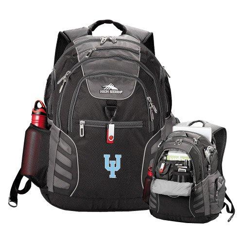 Upper Iowa High Sierra Big Wig Black Compu Backpack 'Official Logo' by CollegeFanGear