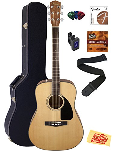 fender-cd-60s-dreadnought-acoustic-guitar-natural-bundle-with-hard-case-tuner-strap-strings-picks-in