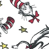 Cat in the Hat Changing Pad Cover