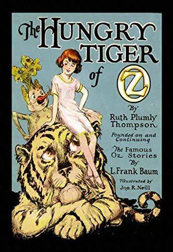 ArtParisienne The Hungry Tiger of Oz John R. Neill 16x24-inch Wall Decal ()