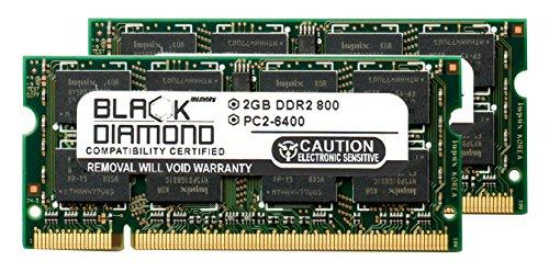 Touchsmart Iq526 Pc (4GB 2X2GB RAM Memory for Compaq TouchSmart IQ Series TouchSmart IQ526 Black Diamond Memory Module DDR2 SO-DIMM 200pin PC2-6400 800MHz Upgrade)