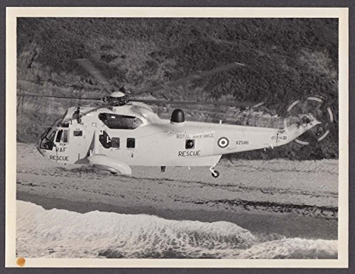 RAF Royal Air Force Rescue Helicopter Westland WS-61 Sea King photo