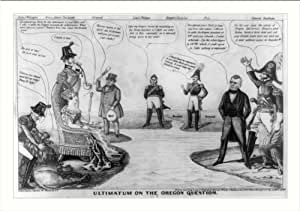 Historic Print (M): Ultimatum on the Oregon question