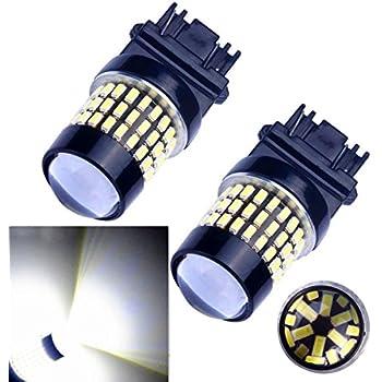 Bulbeats 1000 Lumens 2pcs 78-BX Chipsets 3056 3156 3057 3157 4157 LED Bulbs with Projector LED Bulbs,Back Up Reverse Lights,Brake Lights,Tail Lights Xenon White 6000K 12-24V