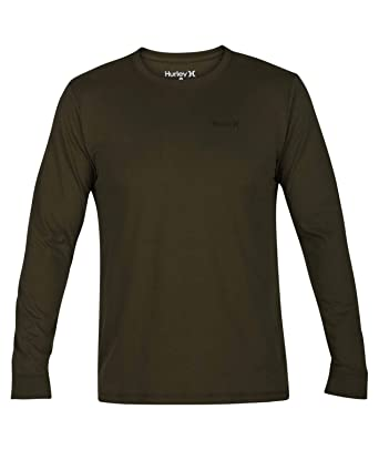 c70e7dc0c4 Hurley - Mens Dri-Fit One & Only 2.0 Long Sleeve Long Sleeve Shirt ...