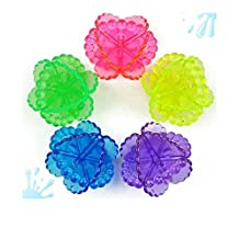 5 PCS Laundry Washing Balls Clothes Fabric Softener Ball