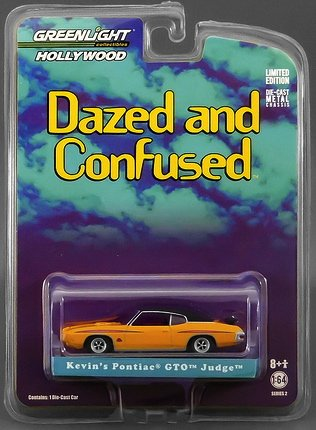 Greenlight Collectibles   Dazed And Confused Diecast Model 1 64 1970 Pontiac Gto Judge