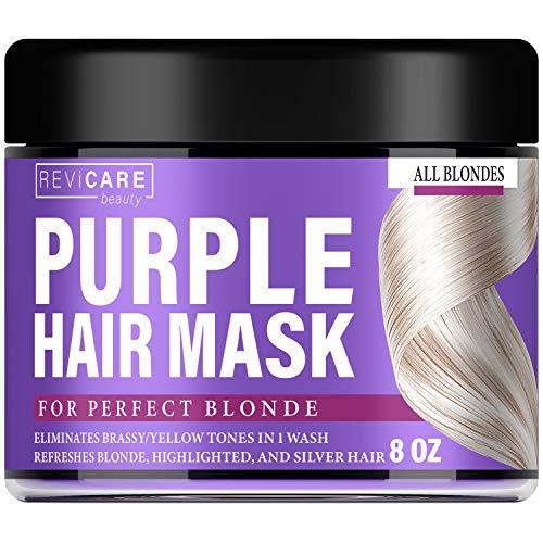 Purple Hair Mask Hair