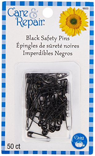 Dritz Care & Repair Safety Pins 50/Pkg, Assorted