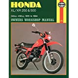 HAYNES Honda Xl/Xr: 250 500Cc 78-84 (Exc. Rfvc Models) Repair Manual Offroad 567