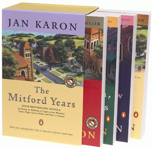 Medford Series - The Mitford Years, Vol. 1-4 (At Home in Mitford / A Light in the Window / These High, Green Hills / Out to Canaan)