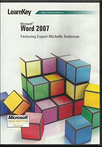 LearnKey Expert Learning Solutions: Microsoft Word 2007 Featuring Michelle - Learnkey