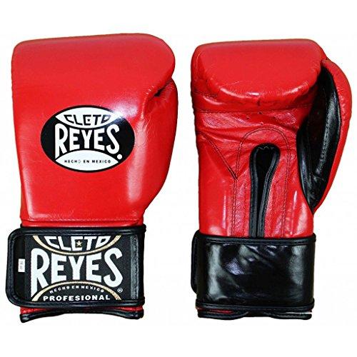 Cleto Reyes Extra Padding Training Gloves-Red-16oz.