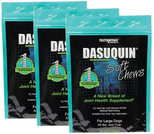 3PACK Dasuquin Soft Chews for Large Dogs (252 Chews) by Dasuquin