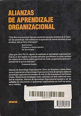 Amazon.com: Alianzas de aprendizaje organizacional. Como las ...