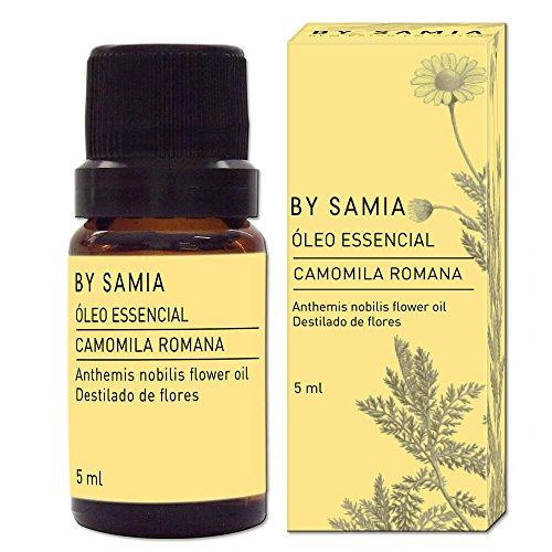 Óleo Essencial de Camomila Romana 5 ml, By Samia, Multicor