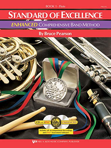 PW21FL - Standard of Excellence Enhanced Book 1 - Flute