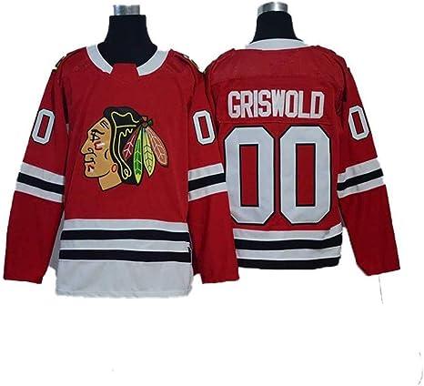 WUYI Jersey de Hockey, Jersey de Chicago Black Hawk # 00 Jersey de ...