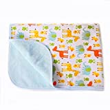 Baby Reusable Diaper Changing Pad for Home and Travel...