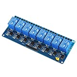 Docooler 5V Active Low 8 Channel Relay Module Board for Arduino PIC AVR MCU DSP ARM
