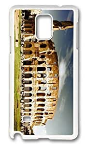 Adorable Colosseum Hard Case Protective Shell Cell Phone HTC One M8 - PC White