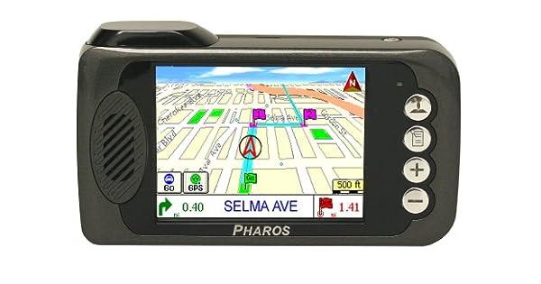 Amazon.com: Pharos Drive 135 3.5-inch Portable GPS Navigator ...