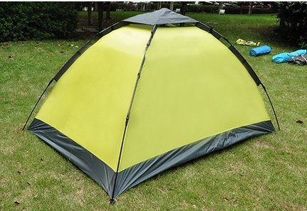 Outdoor camp camping tent 2 people will be able to set up a waterproof tent